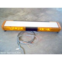 Whelen 9000 High Visability Strobe Lightbar With Traffic Advisor