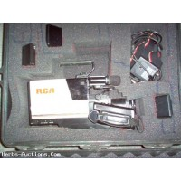 Used RCA VHS Camcorder With Case