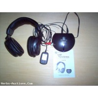 Innovative Technology Wireless Headphones Mdl. ITHW-858