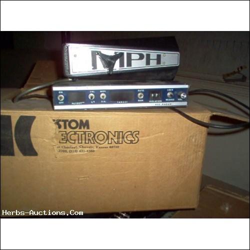Used MPH 55 Radar Gun