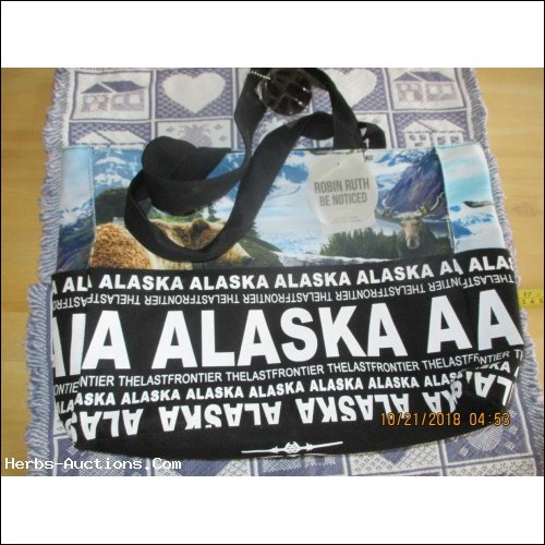 Alaska Robin Ruth Shopping Bag