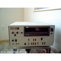 "Used Sony VO5600 3/4"" Umatic VCR"