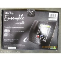 NOB Clarity Ensemble Hearing Impaired Telephone Clear Caption Option