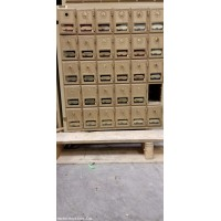 Salsbury Wall Mounted Mail Cluster Boxes
